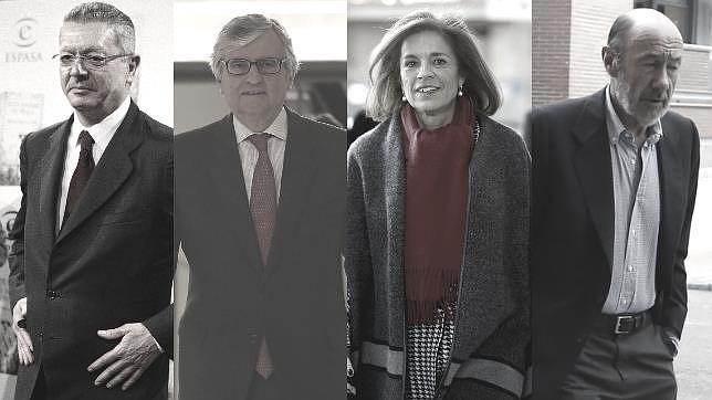 Gallardón, Toores-Dulce, Botella o Rubalcaba son algunos de los que han renunciado a sus puestos