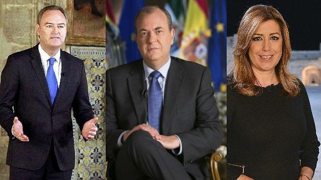 Discursos de fin de año de los presidentes autonomicos