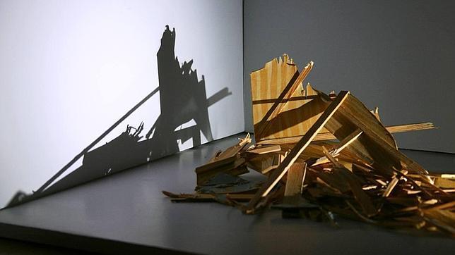 Obra de la serie «El último resplandor», de Antonio Fernández Alvira