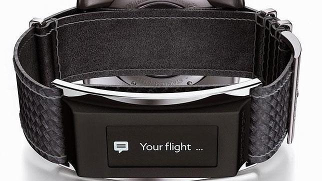 Montblanc entra en la era «wearable» con la pulsera e-Strap