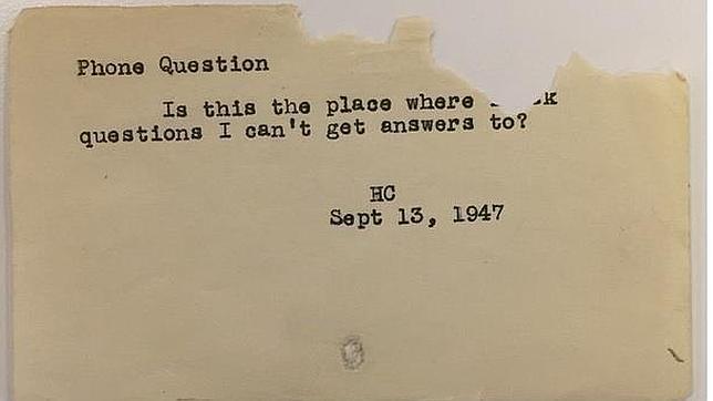 ¿Quién resolvía nuestras dudas antes de Google?