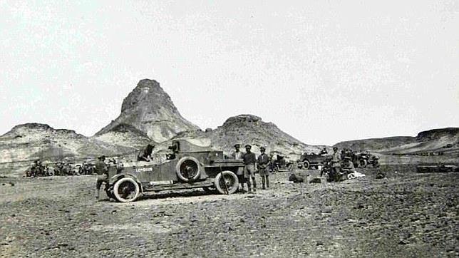 Arqueólogos británicos excavan los restos del campamento de Lawrence de Arabia