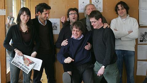 El director de «Charlie Hebdo» y los dibujantes Cabu, Wolinski y Tignous han muerto en el ataque