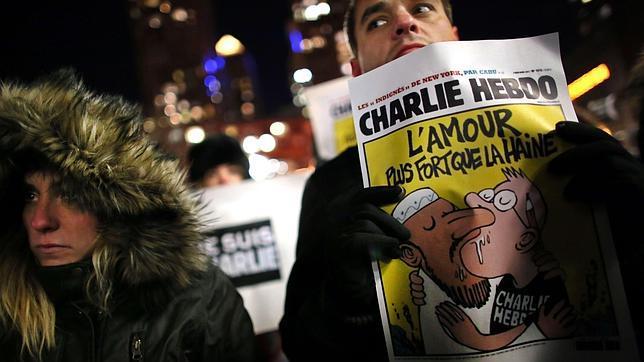 EE.UU. evita publicar las viñetas de Mahoma del «Charlie Hebdo»