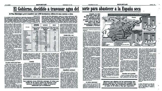 Imagen de la información publicada por ABC el 10 de enero de 1993