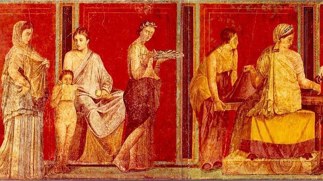 pompeya contada por sus supervivientes On pinturas de pompeya