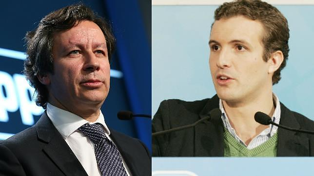 Carlos Floriano y Pablo Casado