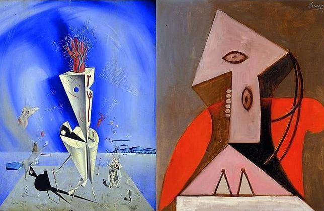 Picasso y Dalí, cara a cara a través de dos de sus obras