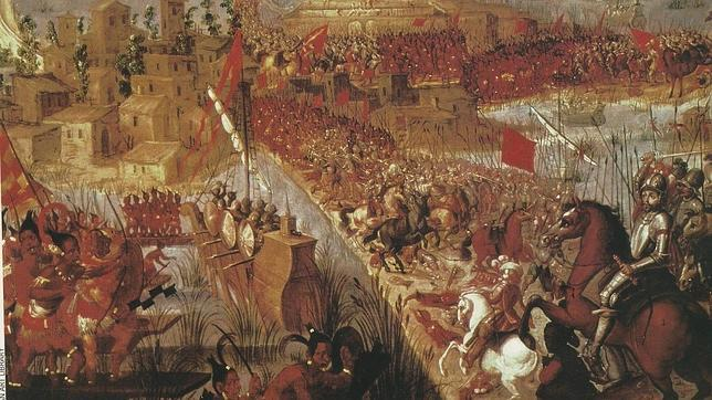 El asedio final a Tenochtitlán