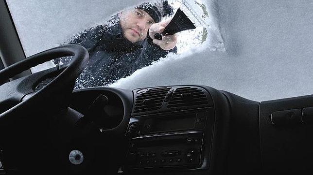 Rasqueta para quitar hielo coche