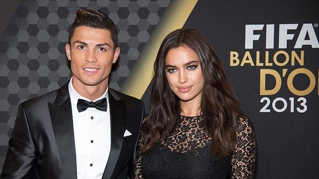 Irina Shayk sí acompañó a Cristiano el pasado año, cuando el portugués ganó su segundo Balón de Oro