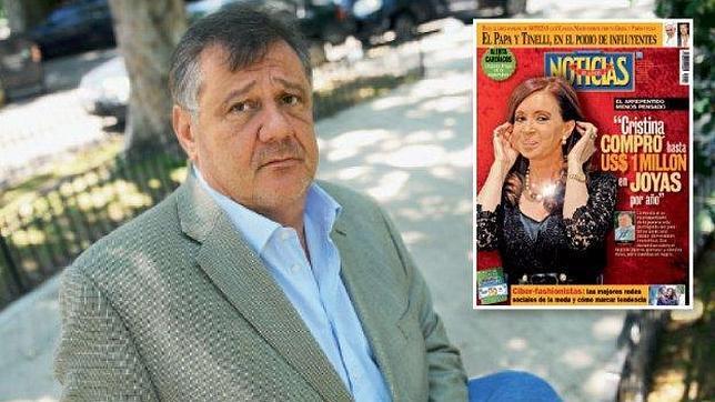 Sergio Hovaghimian es el joyero que ha revelado los costosos gustos de la presidenta Cristina Fernández de Kirchner