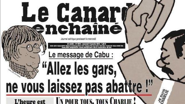 «Le Canard Enchaîné» dedica su número de esta semana a sus colegas de «Charlie Hebdo»