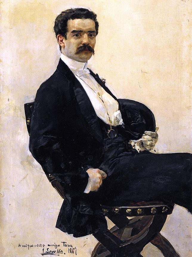 «Retrato de don Juan Antonio García del Castillo», de Sorolla