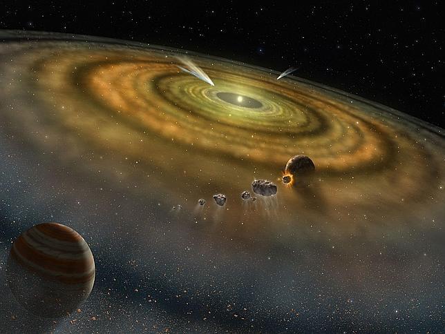 El «otro» origen del Sistema Solar