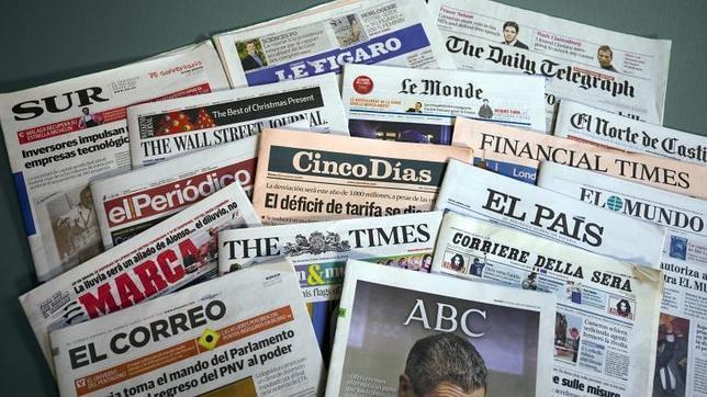 Resultado de imagen de prensa diarios