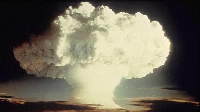 Prueba nuclear realizada por EE.UU. en 1954