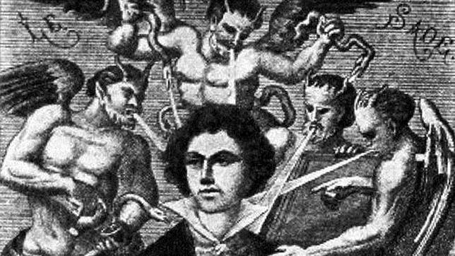 Retrato imaginario del Marqués de Sade