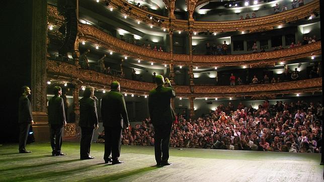 Cinco santuarios del gran teatro en bilbao - Teatro campos elisios ...