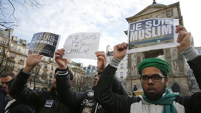 Guetos musulmanes en armas contra Francia