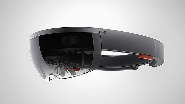 Detalle de Hololens, las gafas de realidad aumentada de Microsoft