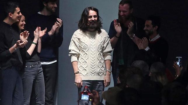 El diseñador Alessandro Michele