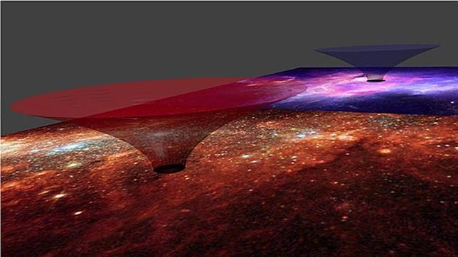 ¿Y si vivimos dentro de un gigantesco agujero de gusano?