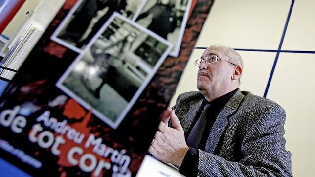 Andreu Martín, autor de «Cómo escribo novela policíaca»