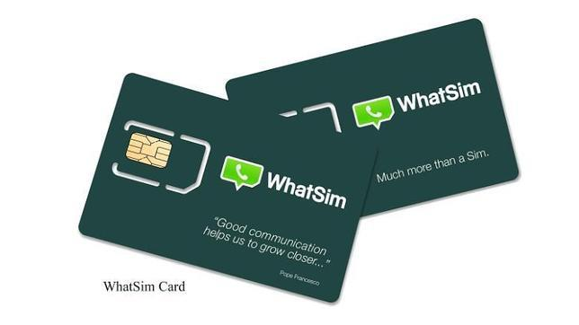 WhatSim: una tarjeta para utilizar WhatsApp sin datos ni wifi