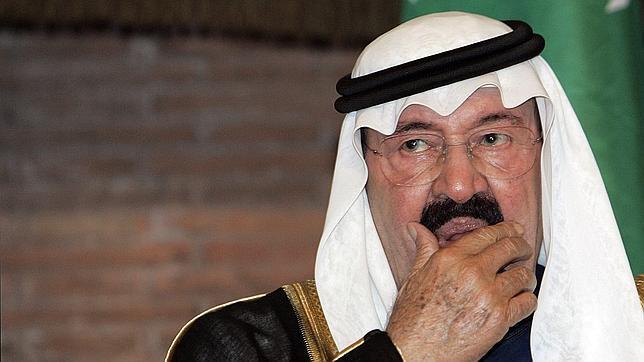 El Rey de Arabia Saudí, Abdalá bin Abdulaziz, en 2007