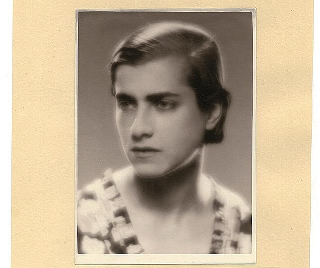 Retrato de Marga dedicado a Juan Ramón: «No es que esté bien, quiero decir guapa... pero es el que me hice para ti»