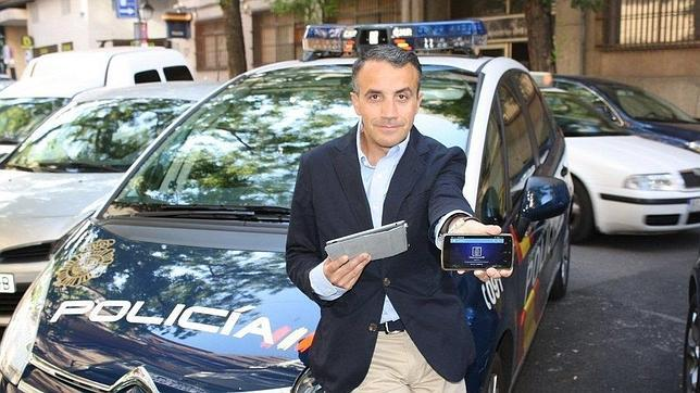 Carlos Fernández Guerra, responsable de Redes Sociales del Cuerpo Nacional de Policía