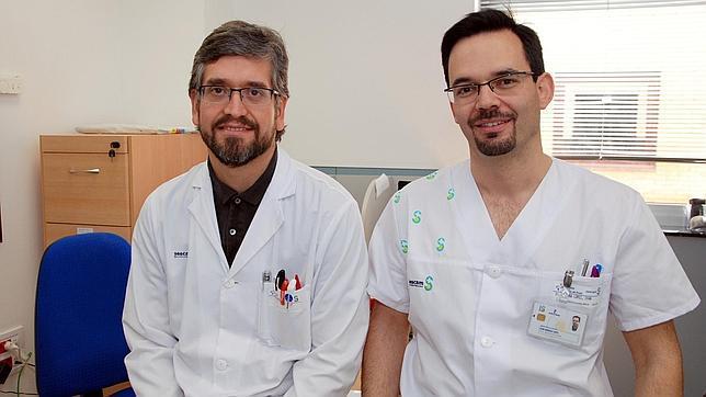 Los doctores Rodrigo Ghiglino e Iván Quiroga