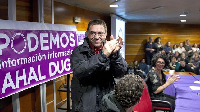 El número dos de Podemos, Juan Carlos Monedero