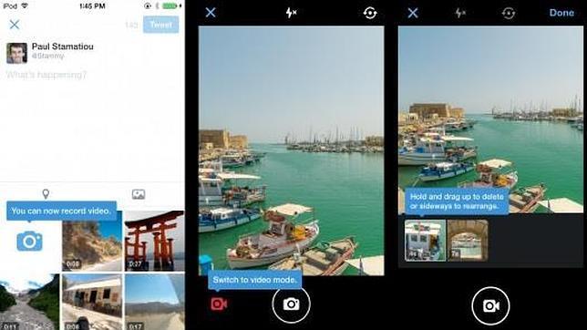 Twitter añade mensajes en grupo y vídeos de hasta 30 segundos