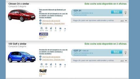 por qué hay tantas diferencias de precio a la hora de alquilar un coche?