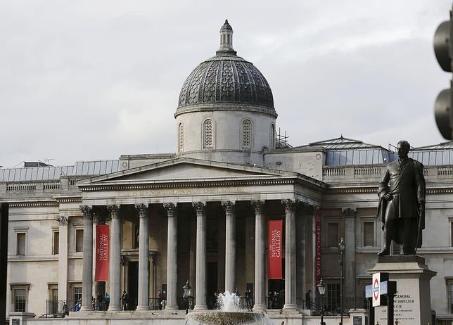 Fachada de la pinacoteca londindense