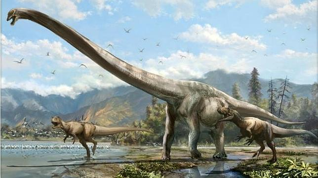 Un «dragón» la mitad cuello, descubierto en China