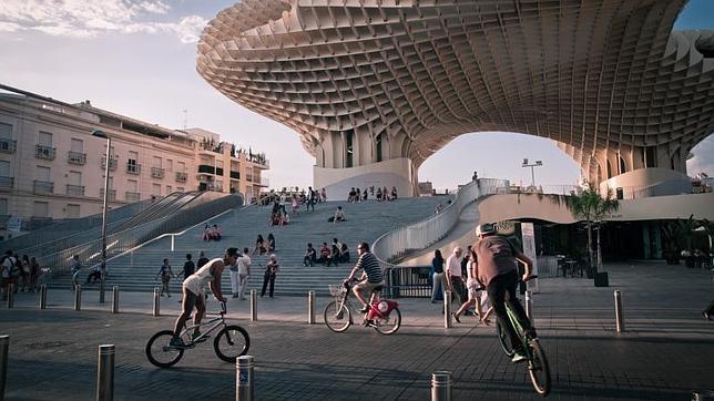 Las Setas de la Encarnación, un espacio de encuentro en Sevilla
