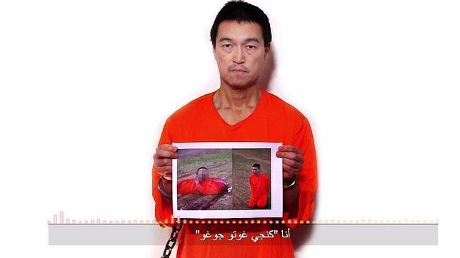 El primer ministro de Japón da una credibilidad al vídeo que muestra la muerte de un rehén