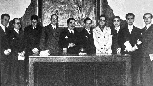 Reunión en el Ateneo de Sevilla, origen de la Generación del 27