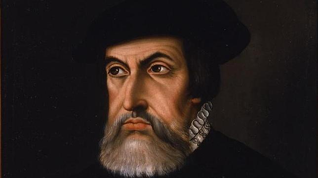 Retrato de Hernán Cortés en sus últimos años