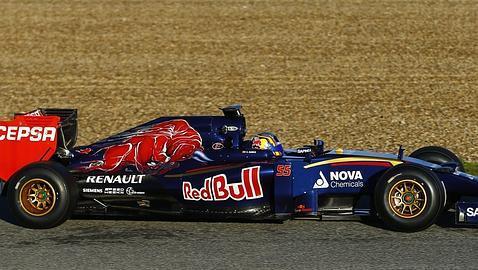 Carlos Sainz se estrena en la Fórmula 1