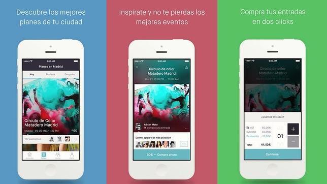 app eventos en tu ciudad
