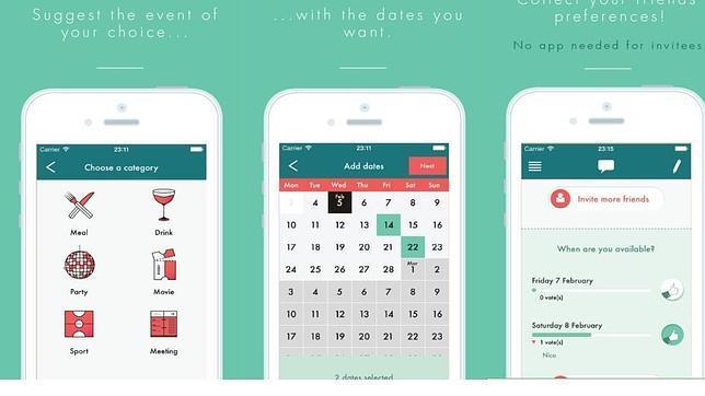 Las mejores «apps» para hacer planes con amigos