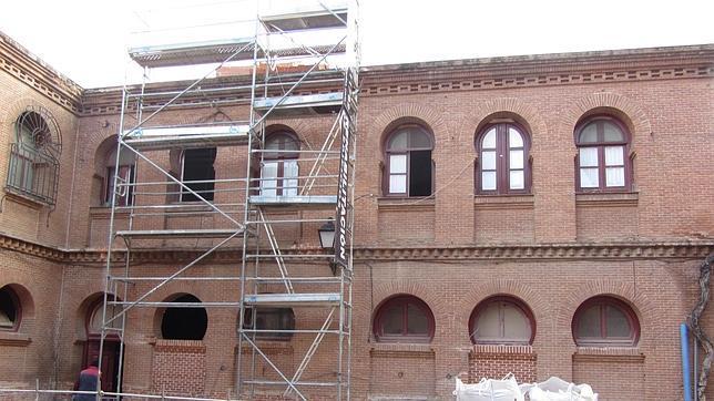Obras de ampliación del Museo Taurino de Las Ventas