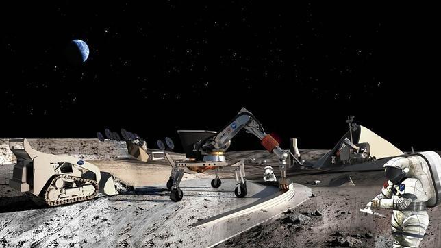 Resultado de imagen de mineria lunar