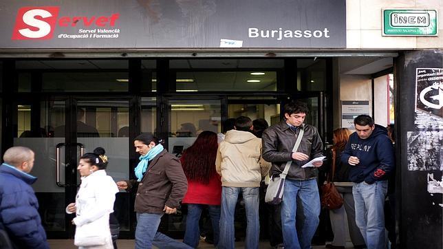 La comunidad valenciana tiene parados menos que for Oficinas servef valencia