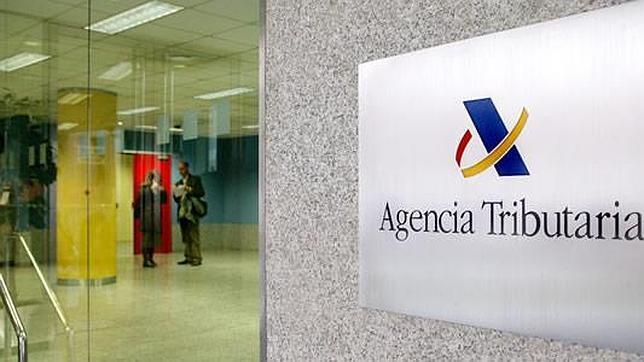 Una oficina de la Agencia Tributaria en Madrid