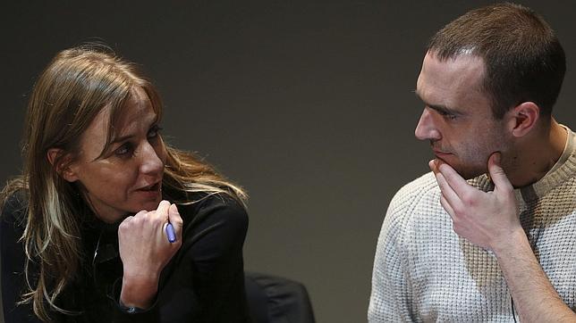 Tania Sánchez y Luis Alegre